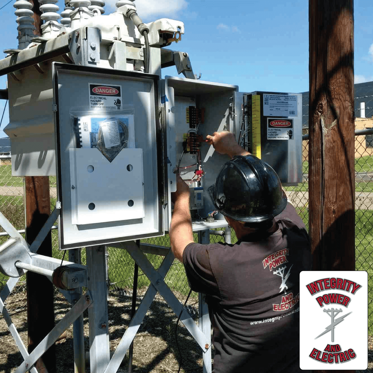 Our industrial electricians